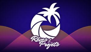 Logo et ambiance de Rêves et projets crée par charlène VERRIER chagraphics